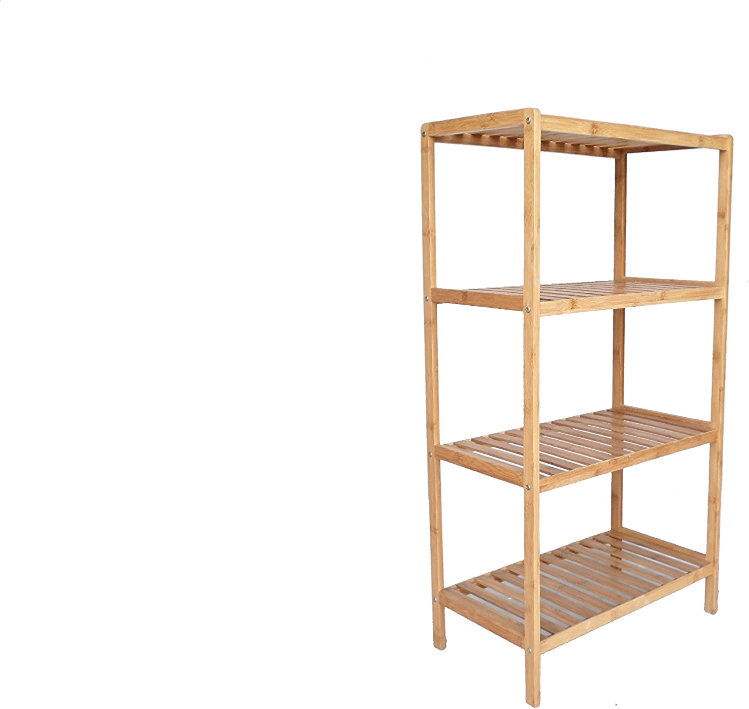 New Shipping Free Shipping Proman Products Outlet ☆ Free Shipping Bamboo 4 Tier Shelf