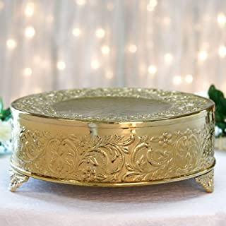 Best embossed metal cake stand Reviews
