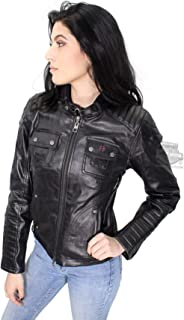 d1b4fddc8a9a Harley-Davidson Slim Fit Womens Quilted Coated Functional Jacket 98115-16VW  Black