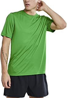 Mens Short Sleeve Dry Tech Workout Shirt- Loppet, Pack of Two