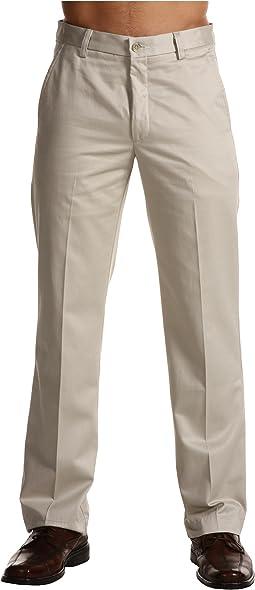 Signature Khaki D1 Slim Fit Flat Front