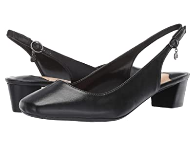 J. Renee Blandina (Black Leather) Women