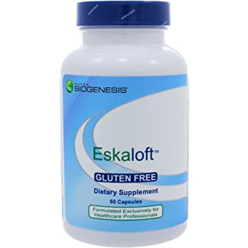 Nutra Biogenesis Eskaloft - B Vitamins - 120 Capsules -, Rhodiola and St. John's Wort to Help Support Mental Health & Stress Response - Gluten Free