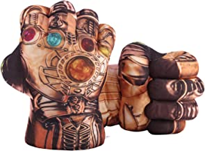 Toyart Hulk, Spiderman, Ironman, Captain America, Thanos Gloves Hands Fists for Kids, Accessories Match for Costumes, 1 Pair