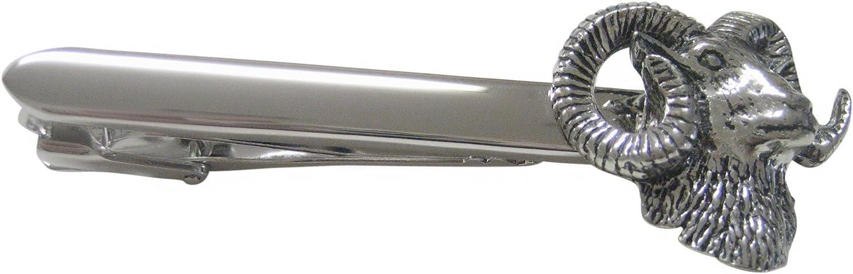 Ram Head Tie Clip