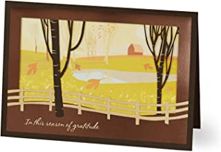 Hallmark Business Thanksgiving Cards for Customers (Fall Classic) (Pack of 25 Greeting Cards)