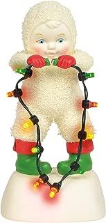 Department 56 Snowbabies Classics Plug It in, Baby Figurine, 5