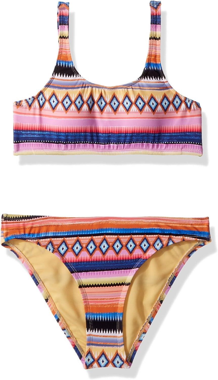 Hobie Girls' Big Tank Bralette Set Hipster Genuine Animer and price revision Bottom Top Swimsuit