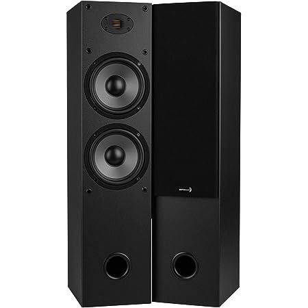 """Dayton Audio T652-AIR Dual 6-1/2"""" 2-Way Tower Speaker Pair with AMT Tweeter"""