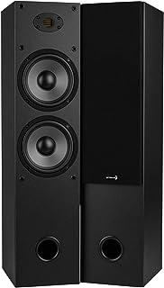"""Dayton Audio T652-AIR Dual 6-1/2"""" 2-Way Tower Speaker Pair AMT Tweeter"""