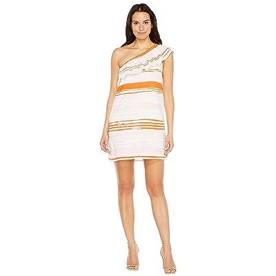 Lilla P One Shoulder Dress (Orchid Print) Women
