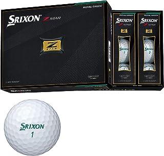 ダンロップ ゴルフボール SRIXON Z-STAR 2021年モデル 1ダース(12個入り) ロイヤルグリーン SNZS7GRN