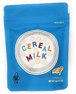 Cookies Cereal Milk 3.5 Gram Mylar Bags, Premium, Heat Seal, Smell Proof, Child Proof, Resealable Zipper Storage Bags (25)