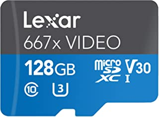 Lexar Professional 667X Video 128GB MicroSDXC UHS-I Card