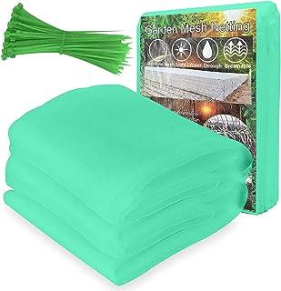 防⾍ネット 菜園プランター 防⾍網 花壇適⽤ ⾍ 除け網 家庭菜園 畑野菜 園芸 農業資材、2.5m x 7.5m
