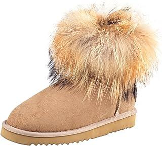 Shenduo Scarpe Donna Invernali - Stivali da neve classico con antisdrucciolo D8751