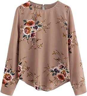 Best flower blouse top Reviews