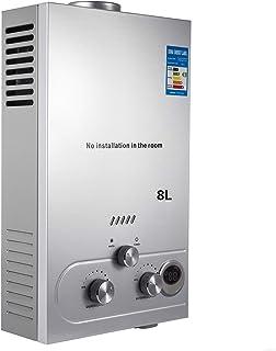 comprar comparacion VEVOR Calentador de Gas 6L, Calentador de Agua de Gas 6L/8L/10L Calentador de Agua a Gas LPG, Calentador Gas Propano Gas B...