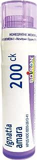 Boiron Ignatia Amara 200CK, 80 Pellets, Homeopathic Medicine for Stress