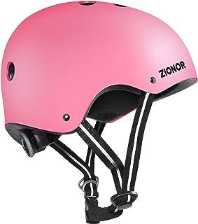 کلاه ایمنی اسکیت برد ZIONOR برای کودکان/نوجوانان/بزرگسالان - پوشیدن راحت برای اسکیت بورد/اسکیت رولر/اسکیت درون خطی/اسکوتر
