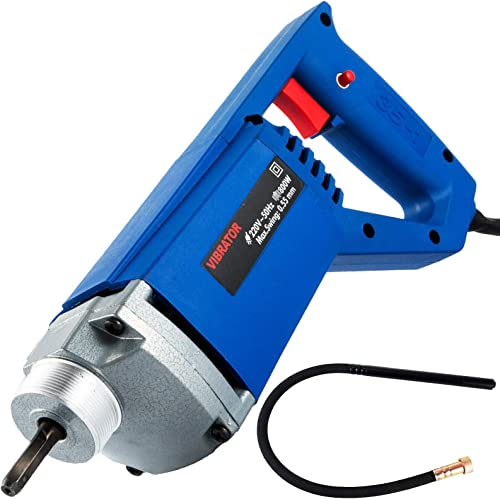 lowest Mophorn 800W Hand Held Electric Concrete Vibrator 4200 VPM 3/4 HP with 3.9 FT Long online sale Shaft Concrete Vibrator Motor for Remove Air wholesale Bubbles and Level Concrete online