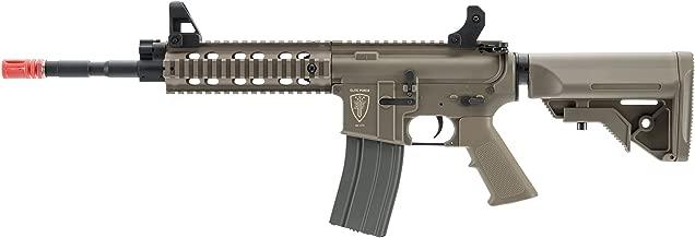 Elite Force M4 AEG Automatic 6mm BB Rifle Airsoft Gun, CFR, FDE