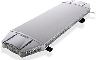 Falcon Flight Emergency 3 watt Low Profile Roof Mount Full LED Light Bar LED Light Bar 37 in (Blue)