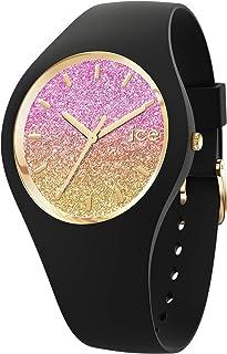 ICE-WATCH - Ice Lo Black Mango, Reloj Negro para Mujer con Correa de Silicona