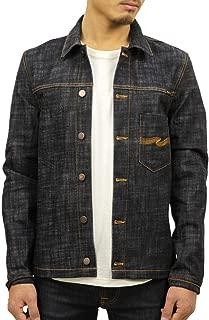 [ヌーディージーンズ] Nudie Jeans 正規販売店 メンズ アウター デニムジャケット RONNY DRY CROSS DENIM JACKET 160569 B26 DENIM (コード:4132026201)