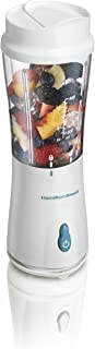 Hamilton Beach Personal Blender for Shakes and Smoothies with Two 14oz Travel Cups and 2..