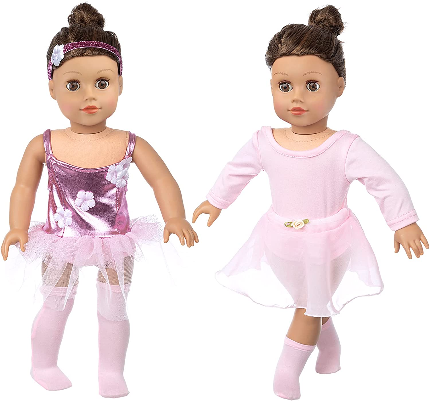 K.T.Fancy American 18 Ranking TOP7 Inch Girl 5 Clothes Accessories Doll Latest item Pcs
