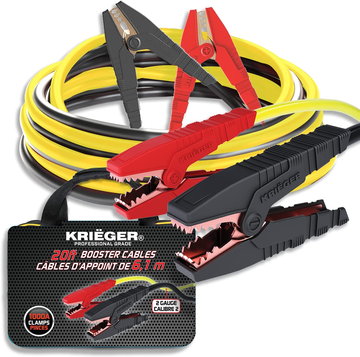 Krieger Jumper Oklahoma City Mall Cables for specialty shop Car Duty Battery Boo Heavy Automotive
