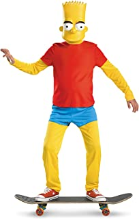 The Simpsons Bart Simpson Deluxe Costume