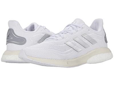 adidas Kids Supernova (Big Kid) (Footwear White/Silver Metallic/Chalk White) Kids Shoes