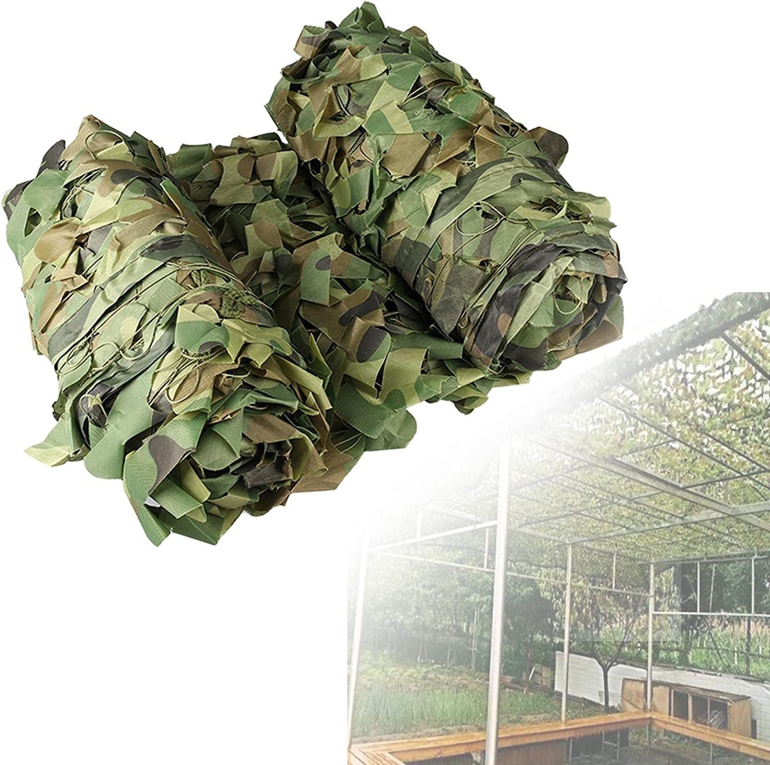 ZCBHSD Camouflage Net Jungle Camo Netting 4x6 3x5m sold Miami Mall out Woodland 3x4m