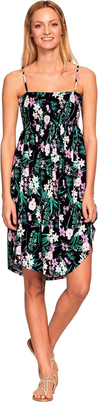 ellos Elegant Women's Plus Size Dress Super sale Bodice Tank Smocked