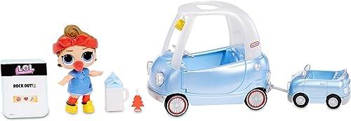 Poupée L.O.L. Surprise 564928E7C Poupée bébé Can Do avec Accessoires pour Road Trip et Plus de 10 Surprises Multicolore