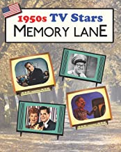 1950s TV Stars Memory Lane: Large print (US Edition) picture book for dementia patients
