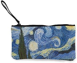 Emoya Portafoglio da donna in pelle sintetica di Van Gogh Starry Night