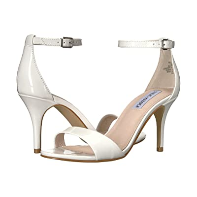 Steve Madden Exclusive Sillly Sandal (White Patent) High Heels