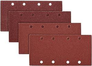 25 pcs Ponçage Pads ponçage papier Velcro Sable Feuille 93x185mm poinçonné H9X4