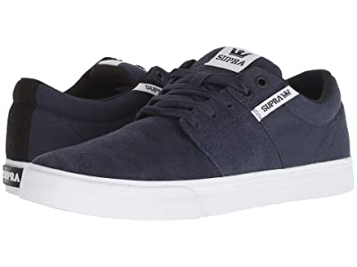 Supra Stacks Vulc II (Navy/White/White) Men