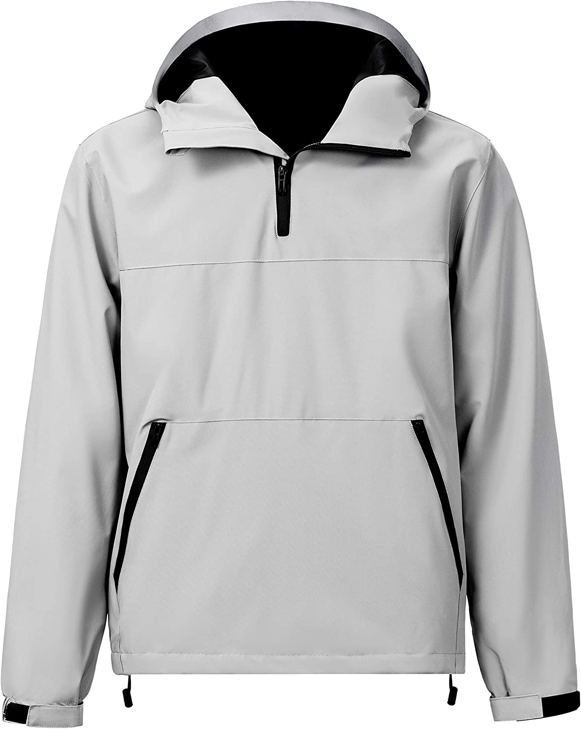 VICALLED 1 4 Zipper Men's Jac Lightweight Hooded Easy-to-use Waterproof Rain Max 90% OFF