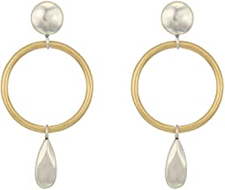 Lucky Brand Circle Earrings