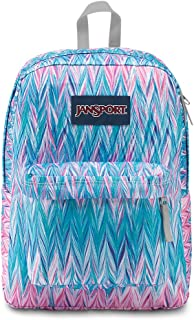 JanSport Superbreak Backpack - Painted Chevron - Classic, Ultralight