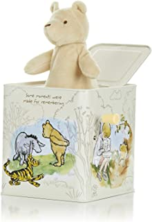 Disney Baby Classic Winnie The Pooh Jack-in-The-Box - Musical Toy for Babies