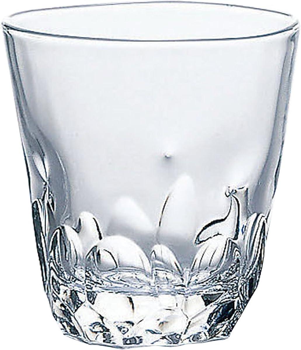 鑑定バッグ分子東洋佐々木ガラス オンザロックグラス 本格焼酎道楽 えくぼ 310ml 日本製 食洗機対応 P-33103HS-JAN
