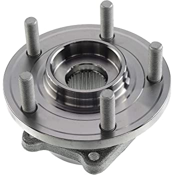 A-Premium Wheel Bearing and Hub Assembly Replacement for 200 Sebring Dodge Avenger Caliber Jeep Compass Patriot 2007-2017 Rear Left or Right