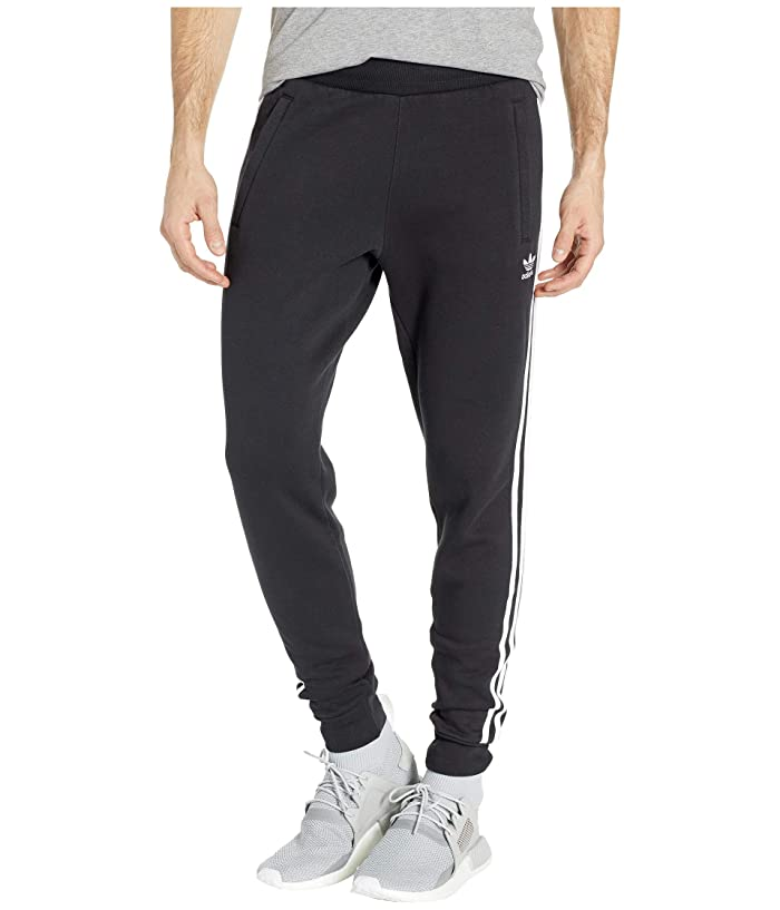 adidas Originals  3-Stripes Pants (Black 2) Mens Casual Pants