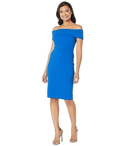Calvin Klein Off the Shoulder Sheath Dress (Capri) Women